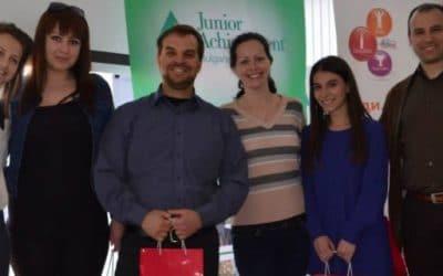 Представяне на програмите и инициативите на JA България за ученици и студенти
