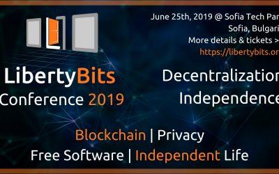 """""""LibertyBits"""" на 25.06.2019г. в София"""