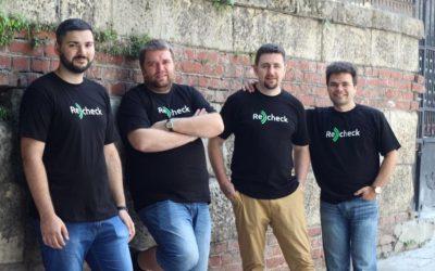 ReCheck привлича инвестиция от æternity Ventures