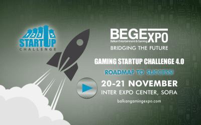 За четвърта поредна година, ще се проведе най-оспорваното състезание в игралната и развлекателната индустрия – Gaming StartUp Challenge 4.0