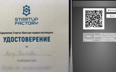 Startup Factory's certificates secured on blockchain with ReCheck