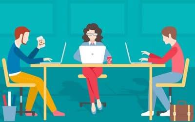Споделеното работно пространство – преимуществата, които ни убягват