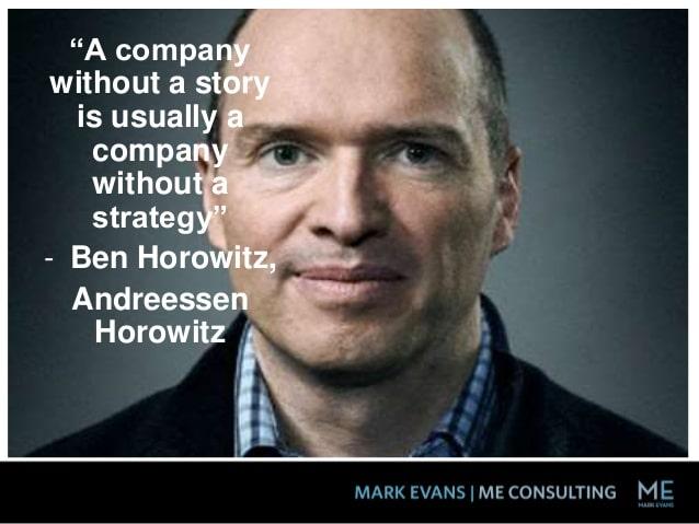 Ben Horowitz Storytelling