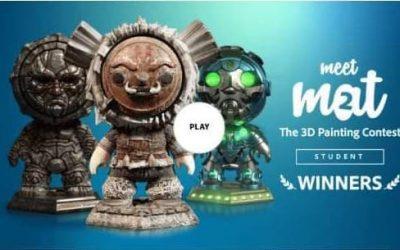 Изключителен успех за Николай Маринов: първо място в престижния конкурс за 3D текстуриране на Adobe Substance