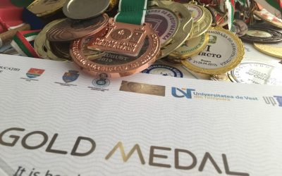 Златен медал за Виктор Кожухаров от Romanian Masters of Informatics