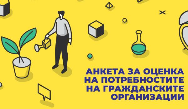 Анкета граждански организации